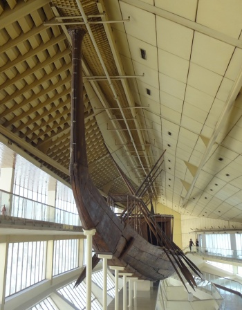 Solar boat of Pharaoh Khufu