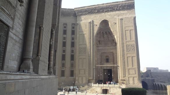 Massive Sultan Hassan's madrassa-mosque