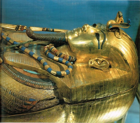 Tutankhamun's 3rd anthropoid coffin