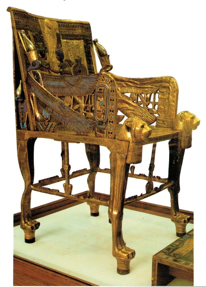 Golden Throne of Tutankhamon