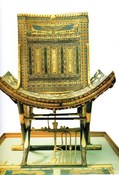Ceremonial Throne of Tutankhamon