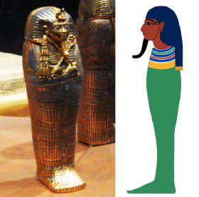 Imset or Amset, one of the Four sons of Horus