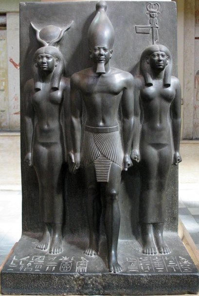 Hathor, Menkaura and Diopolis Parva