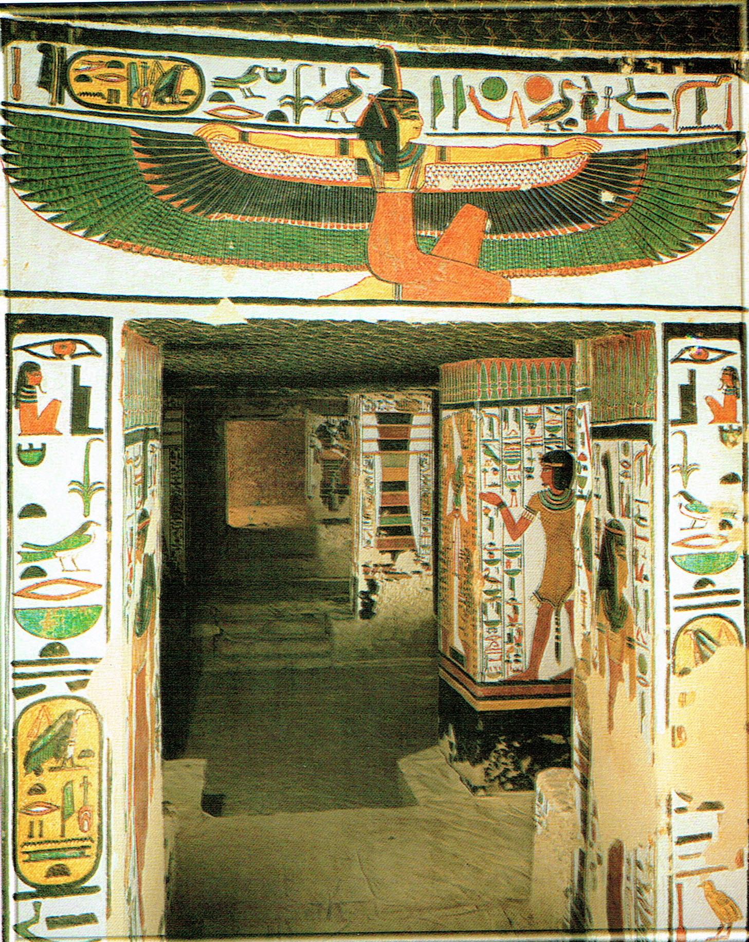 Goddess Maat Tomb Queen Nefertari - newhairstylesformen2014.com