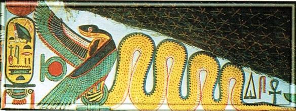 Snake god Mehen
