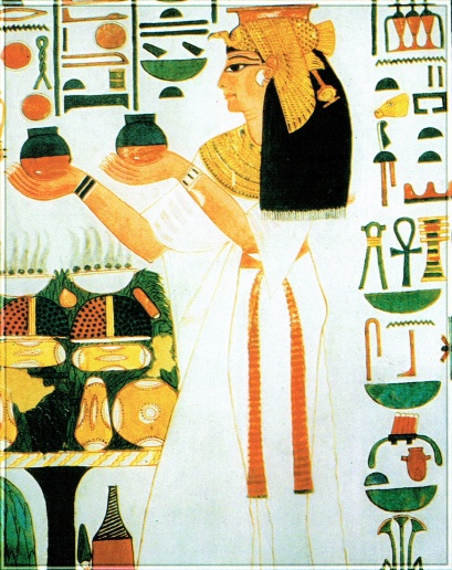 Nefertari, offering to gods