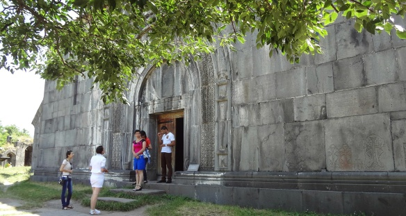 Entrance of the monastery
