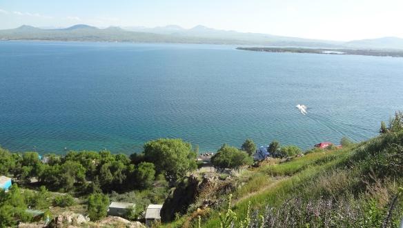View of Lake Sevan
