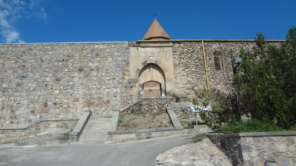 Entrance of the Khor Virap Monastery
