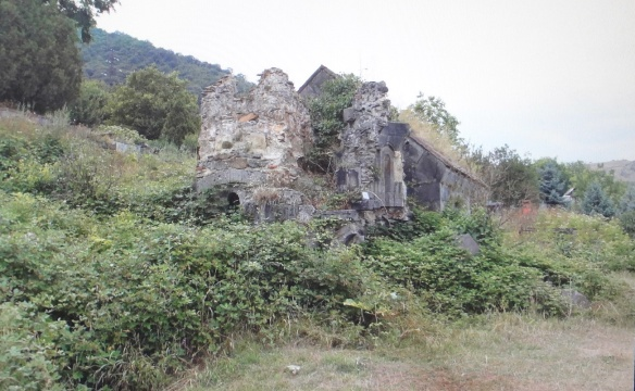 Shabby Sanahin Monastery