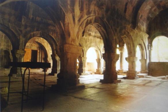 Inside of the monastry