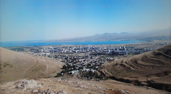 The City and Lake of Sevan