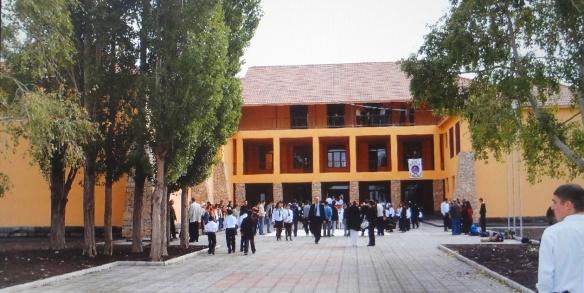 Tsakhkunk School at Sevan City