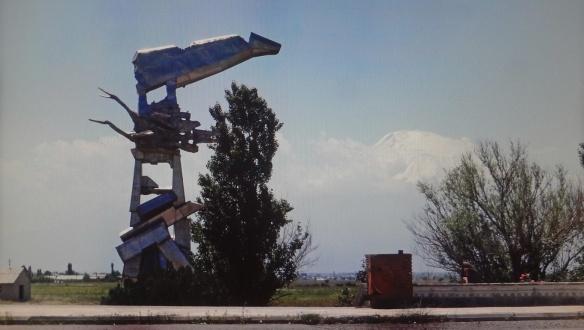 Memorial to died flighters, 1988