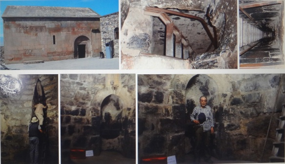 The prison where Saint Gregory was confined in for 12 years under the ground.