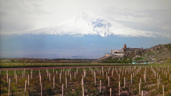 Mt. Ararat, Khor Virap Monastery and the rural area of Lusarat