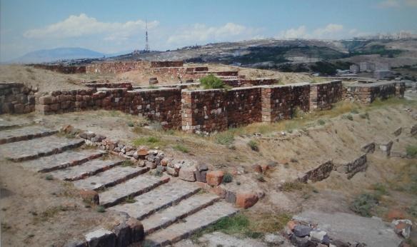 Entrance of the Erebuni fortress