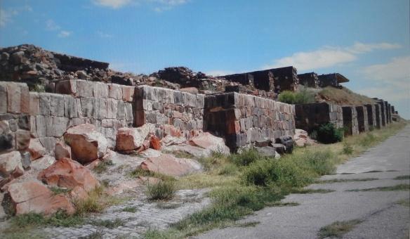 Castle walls of the Erebuni fortress
