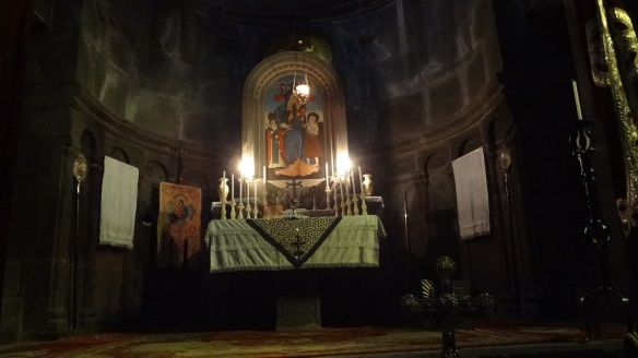 Altar of the chapel