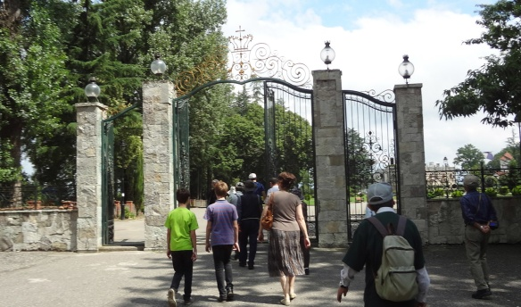 The Gate of Zugdidi Central Park