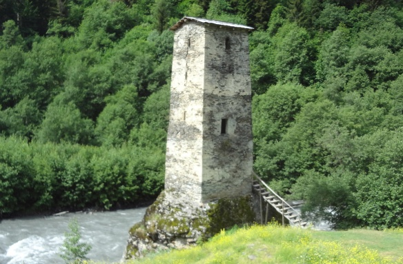 Tower of Love in Village Kala