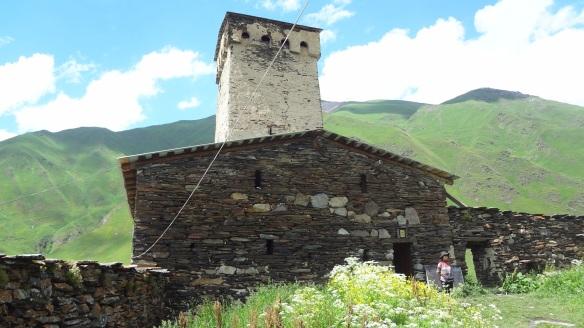 Ushguli La Maria Church