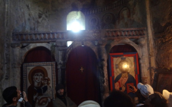 The altar of the Ta Mria church