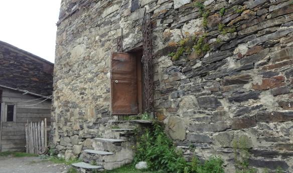 Entrance of  Ushguli Museum
