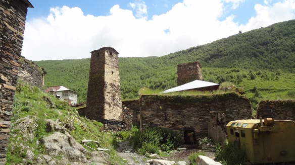 In the Ushguli village