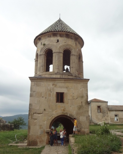 The bell tower of Galati Monastery