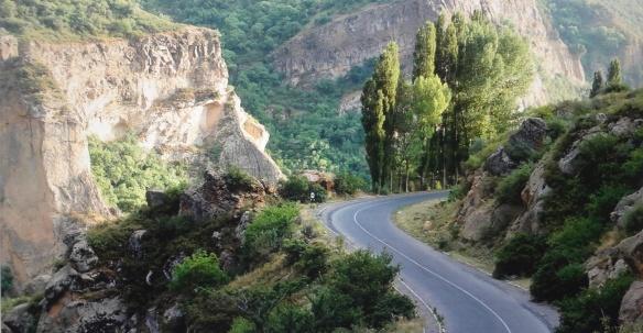 Beautiful Geghard Gorge