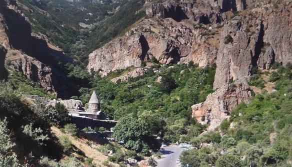 Geghard Gorge and Monastery