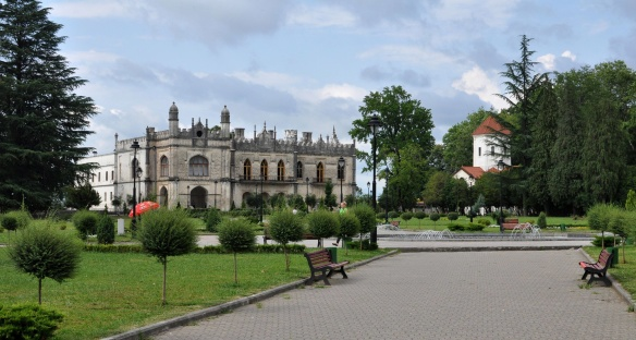 Zugdidi, Dadiani Palace and its attached Church