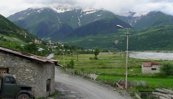 Scenery of the Svaneti Province
