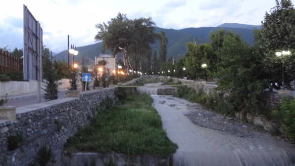 Sheki at night