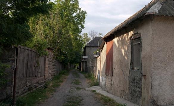 A lane in the Kvakhvreli village