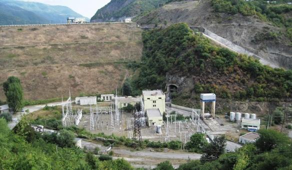 Zhinvali Dam
