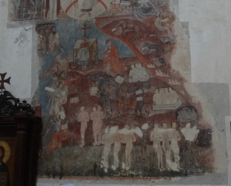 Fresco of the church