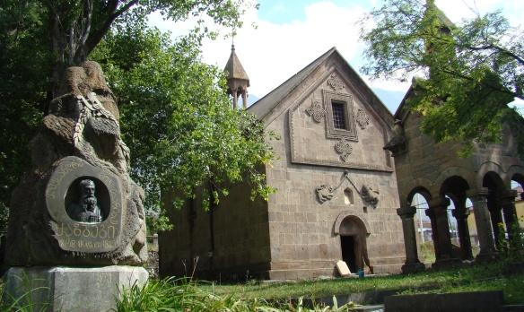 Churchyard, Kazbegi village