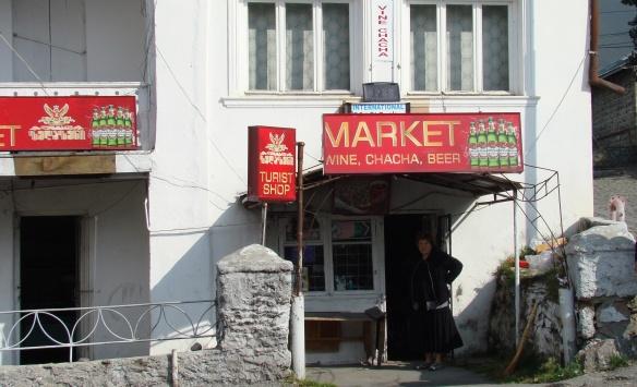 Mini Market,  Kazbegi