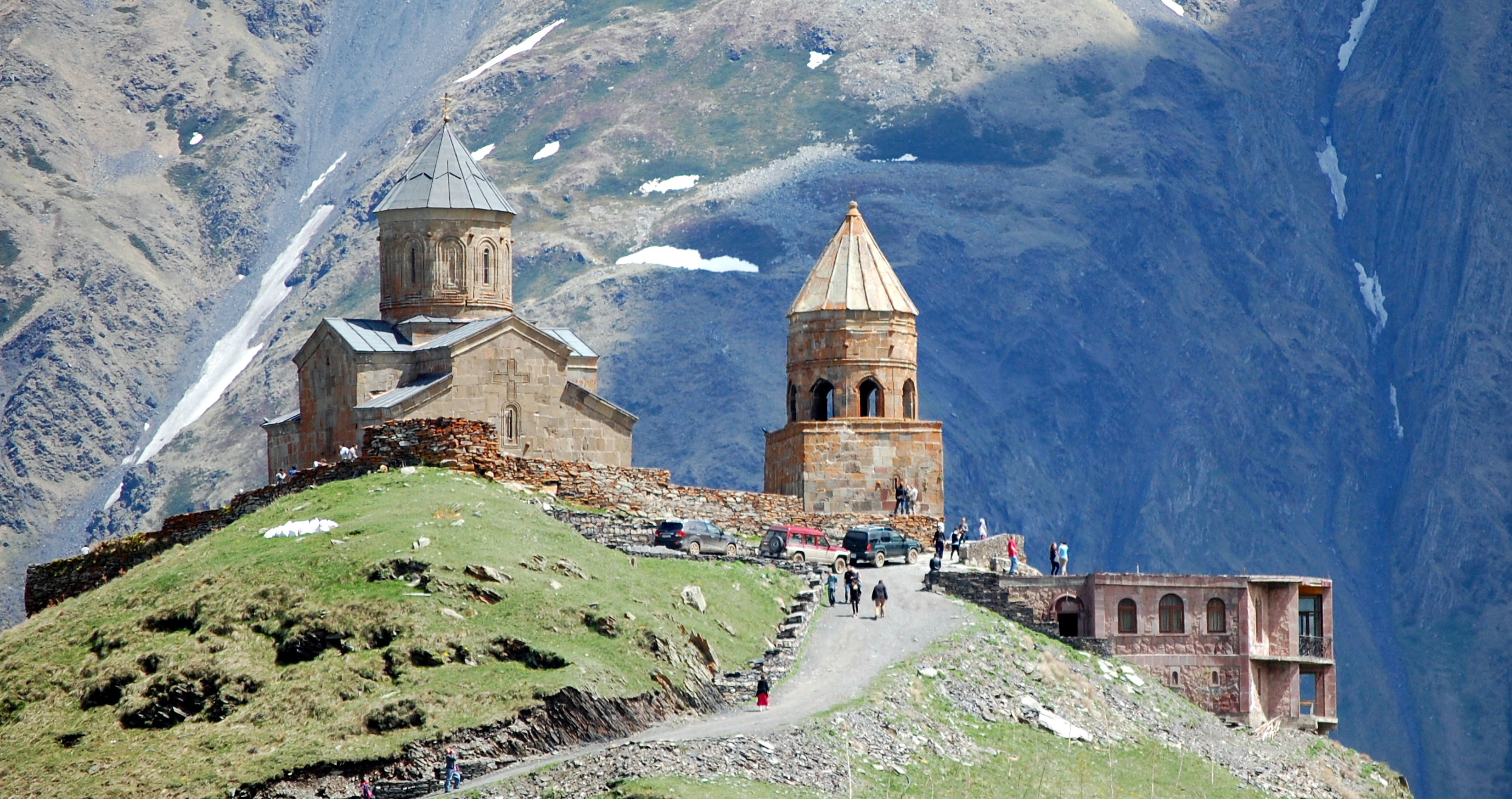 Kazbegi Village, Georgia | weepingredorger