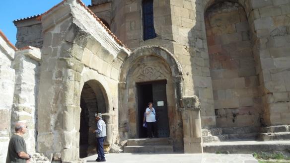 Facade of the Jvari Monastery