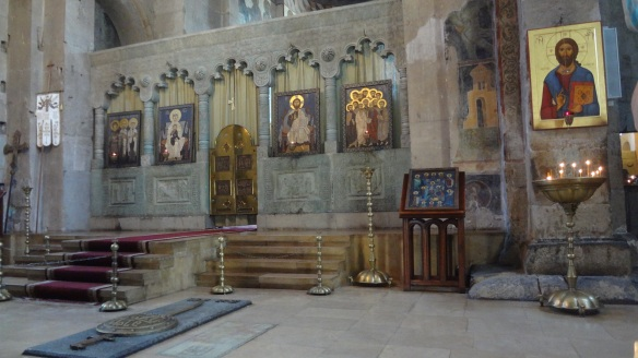 Main altar of Svetitskhoveli Cathedral