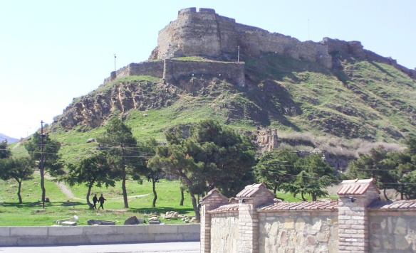 Gori Fortress on the hilltop