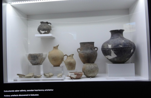 Pottery artefacts discovered in Gobustan