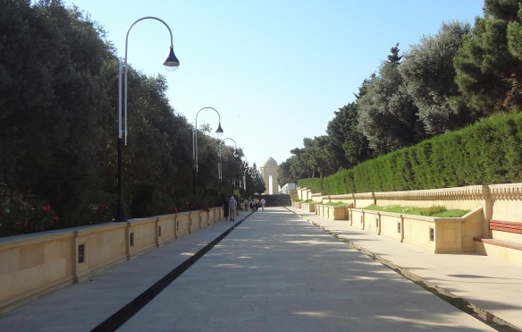 Alley of Martyrs, Baku