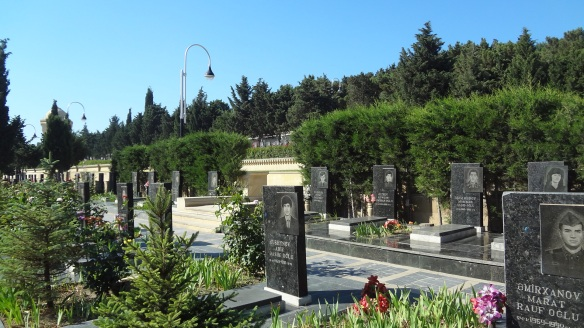 Graves of murdered people