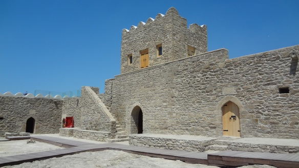 The gate and walls