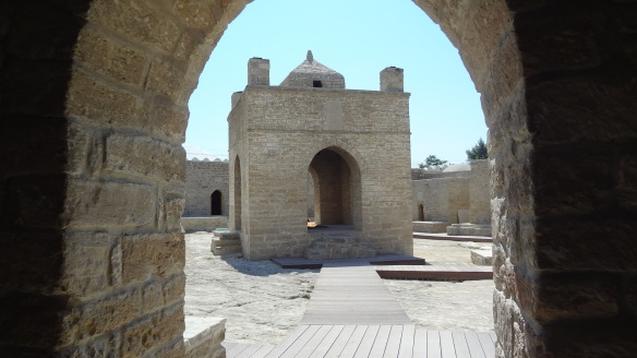 The Entrance of The Zoroaster Temple