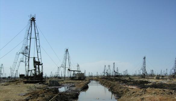 Absheron Peninsula and Caspian Sea are to produce oil.